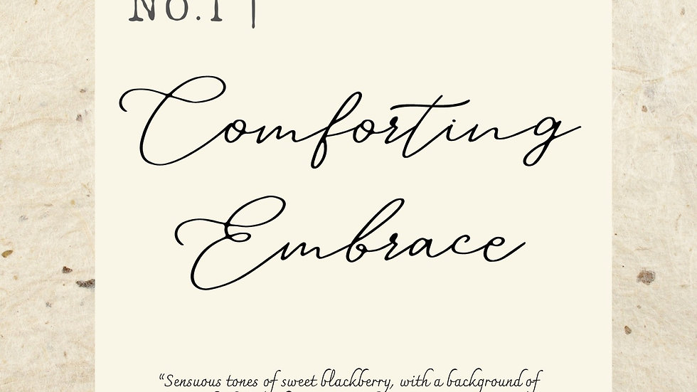 No. 1 | Comforting Embrace