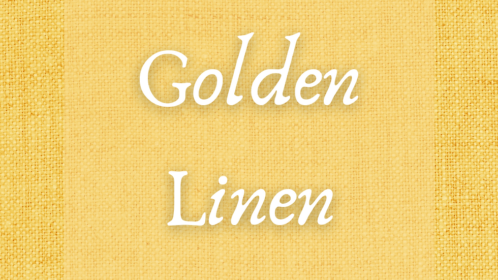 Golden Linen Scented Salt