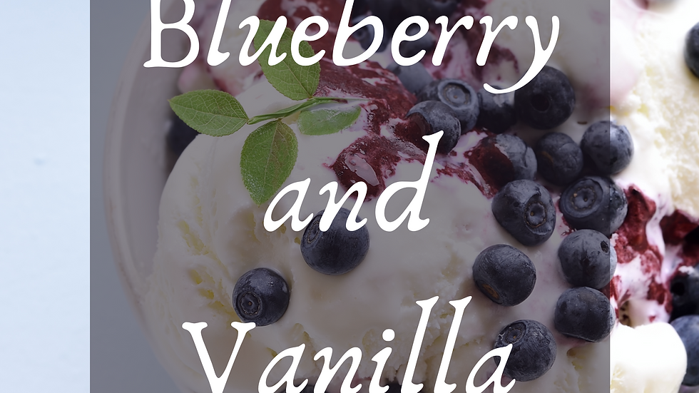 Blueberry and Vanilla Scented Salt
