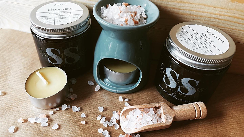 Scentuous Salts Gift Set - WITH tealights