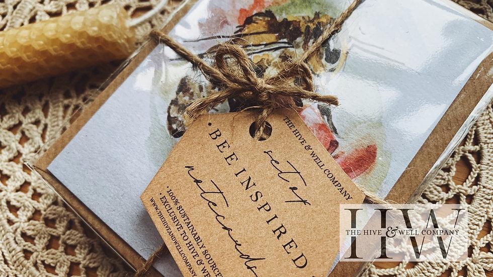 Bee Notecard Set