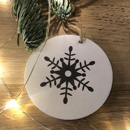 Sujet Noël #30 - Flocon