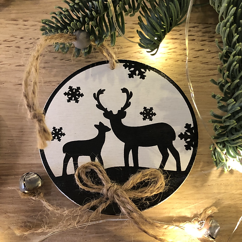 Sujet Noël #31 - Cerf