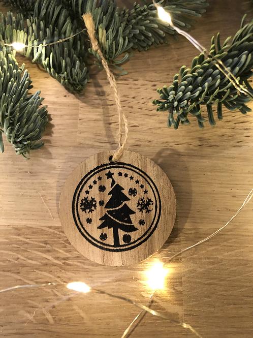 Sujet Noël #18 - Rond Sapin