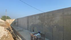 Подготовка стен ГПС№2 под устройство обм