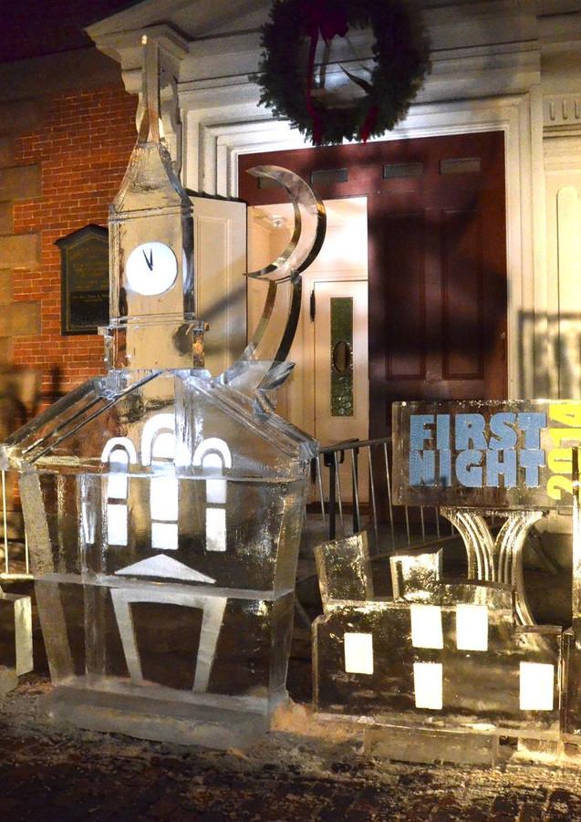 Hubert Krah Designs volunteers at First Night Portsmouth