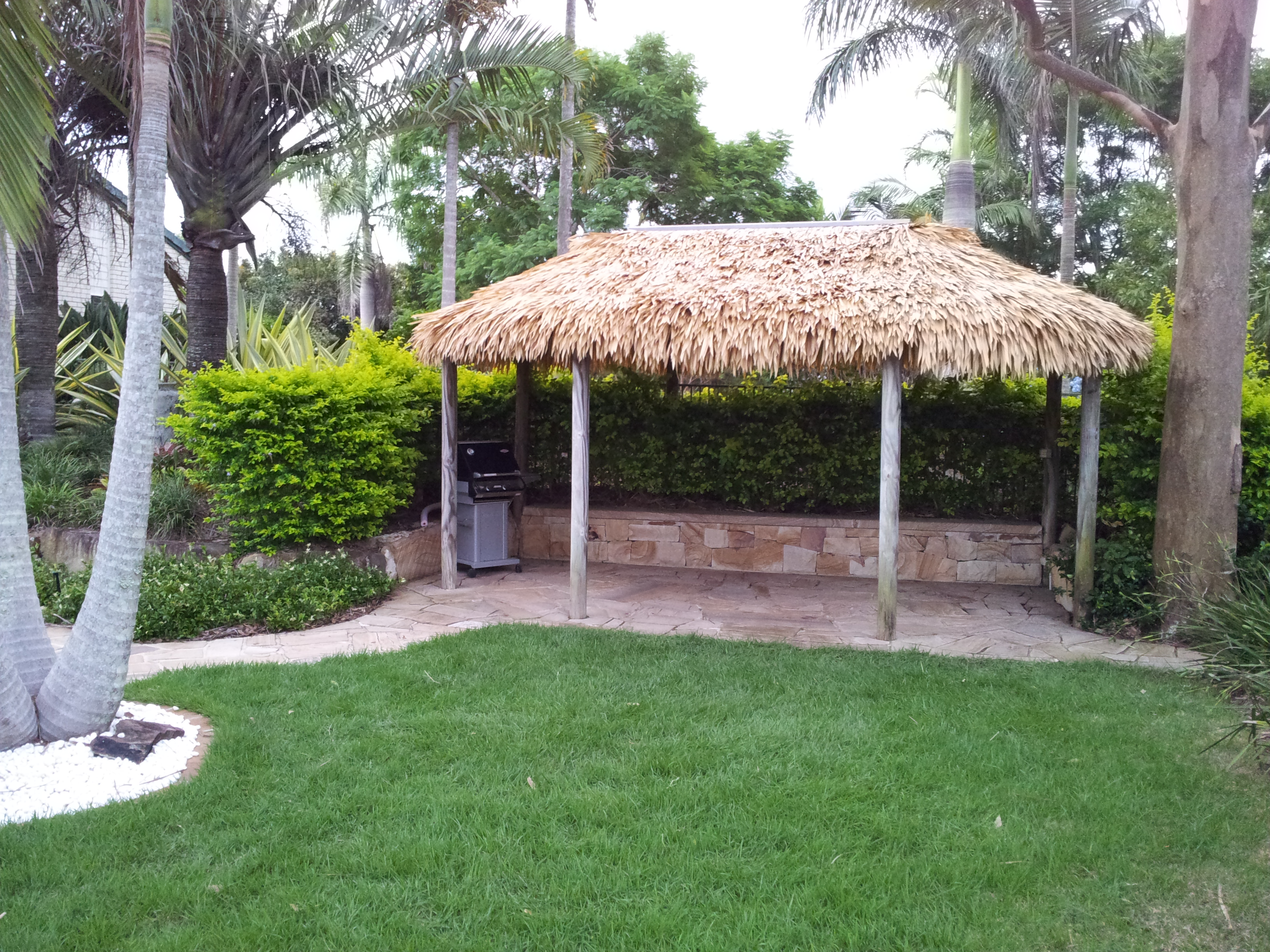 Synthetic Bali Hut Thatch