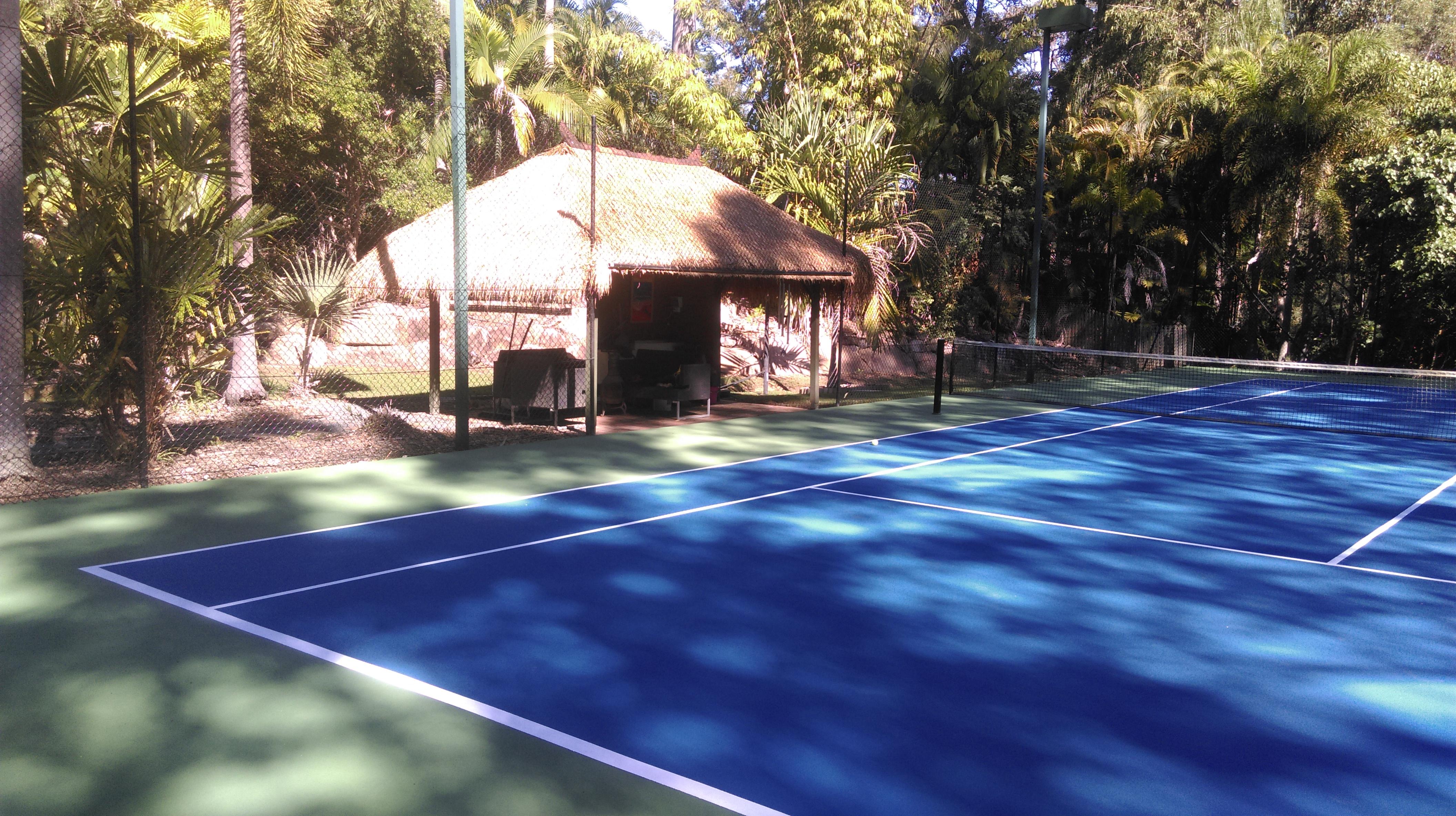 Balinese Gazebos for Tennis