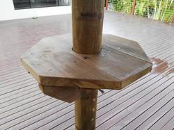 Ajustable Umbrella Table