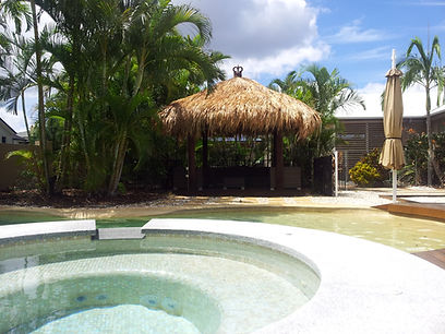 This Bali Huts for Sale - A Exotic Tripical Island Lifestyel Thatch 3x3 Balinese Cabana