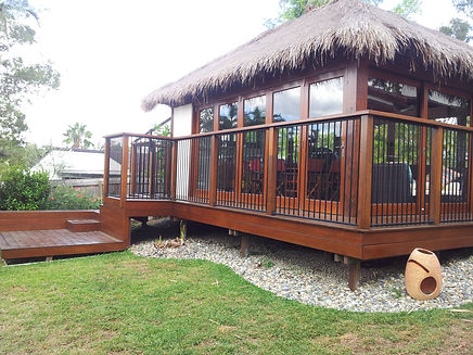 Balinese Thatched Villa or Cottage