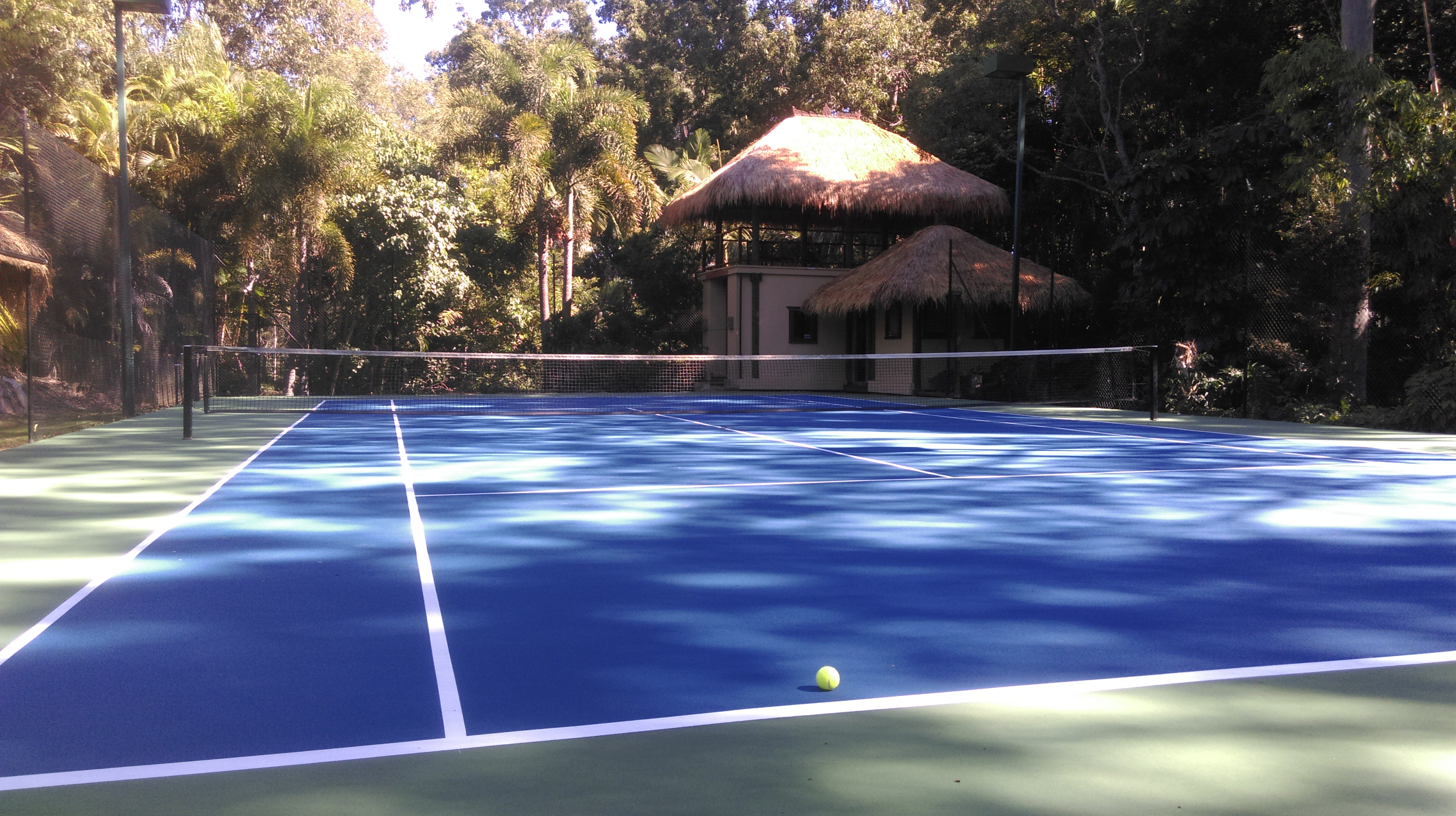 Balinese Pavilion for Tennis