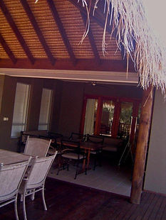 Balinese Thatched Patio
