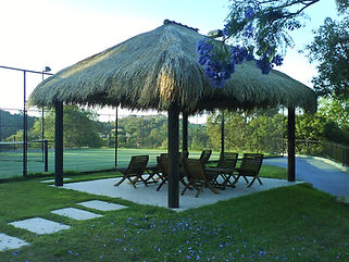 Exotic Ttropical island Lifestyle thatch Balinese Gazebos - 3x3m