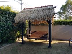 Bali Hut Swing Garden Set