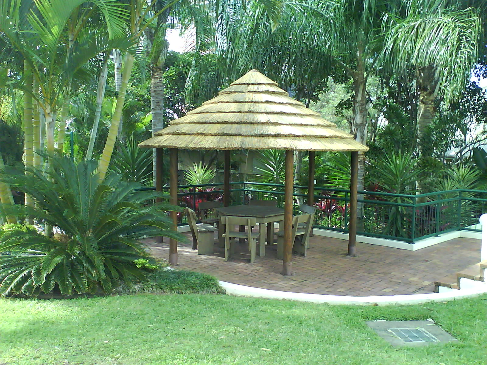 African Cape Reed Gazebo
