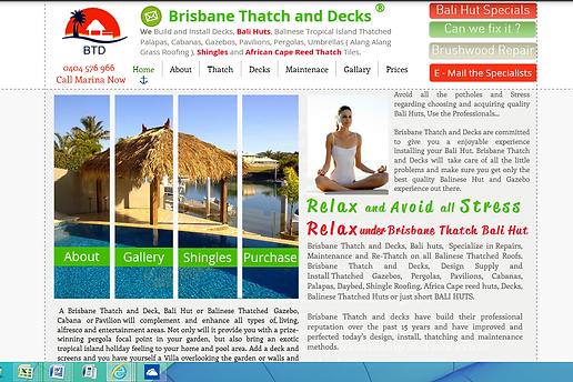 Sunshine Coast Thatch Bali Huts Cabanas African Cape Reed Gazebos