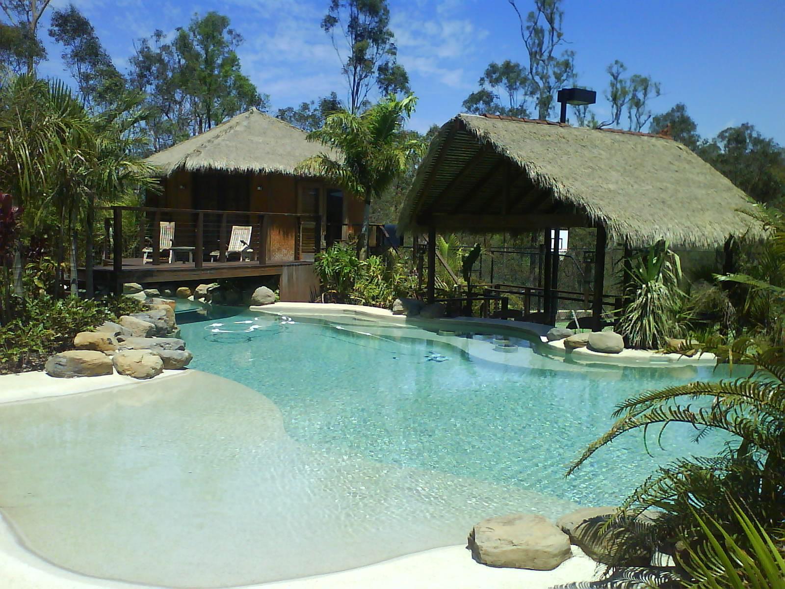 Bali Huts by Brisbane Thatch