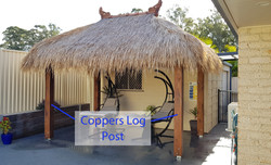 Coppers Log Square Post