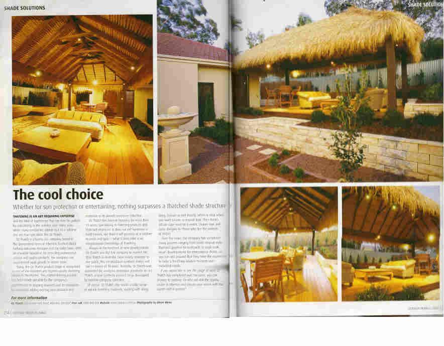 Outdoor Living Brisbane Thatch