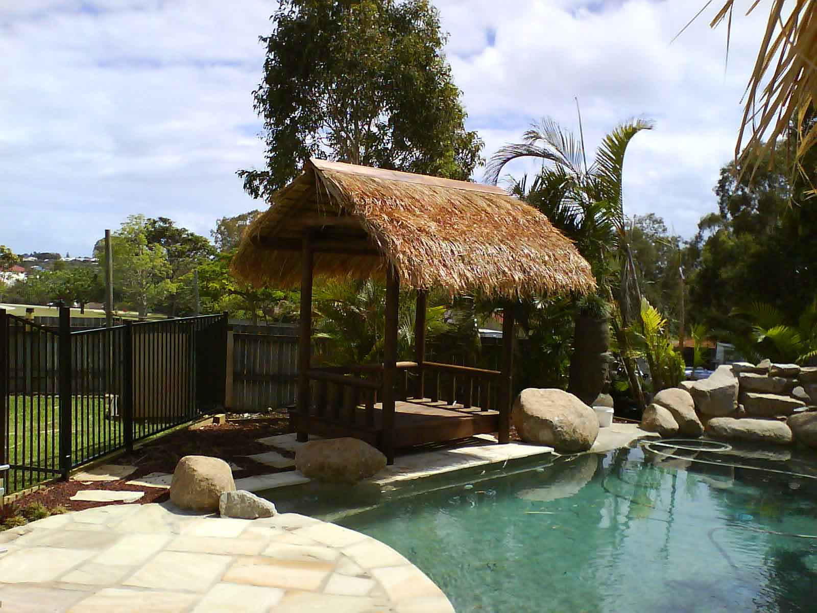 Brisbane Thatch Balinese Hut Gazebo