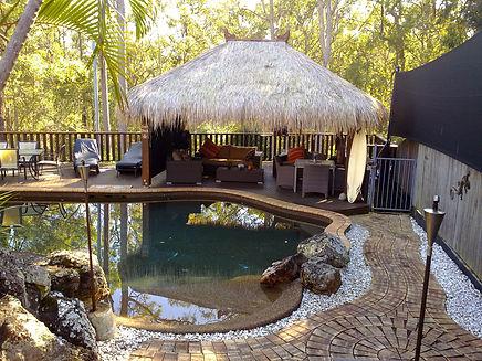 Hawaiian Tiki Huts