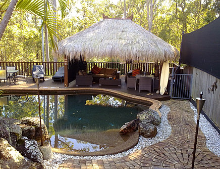 Brisbane Thatch Origen Amp History Bali Huts Alang Alang