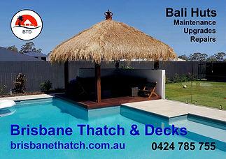 Bali Huts Brisbane Thatch Sunshine Gold Coast Ipswich Toowoomba