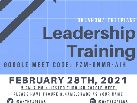 2021 Leadership Training