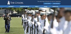 Citadel admissions page.JPG