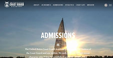 Coast Guard academy admissions page.JPG