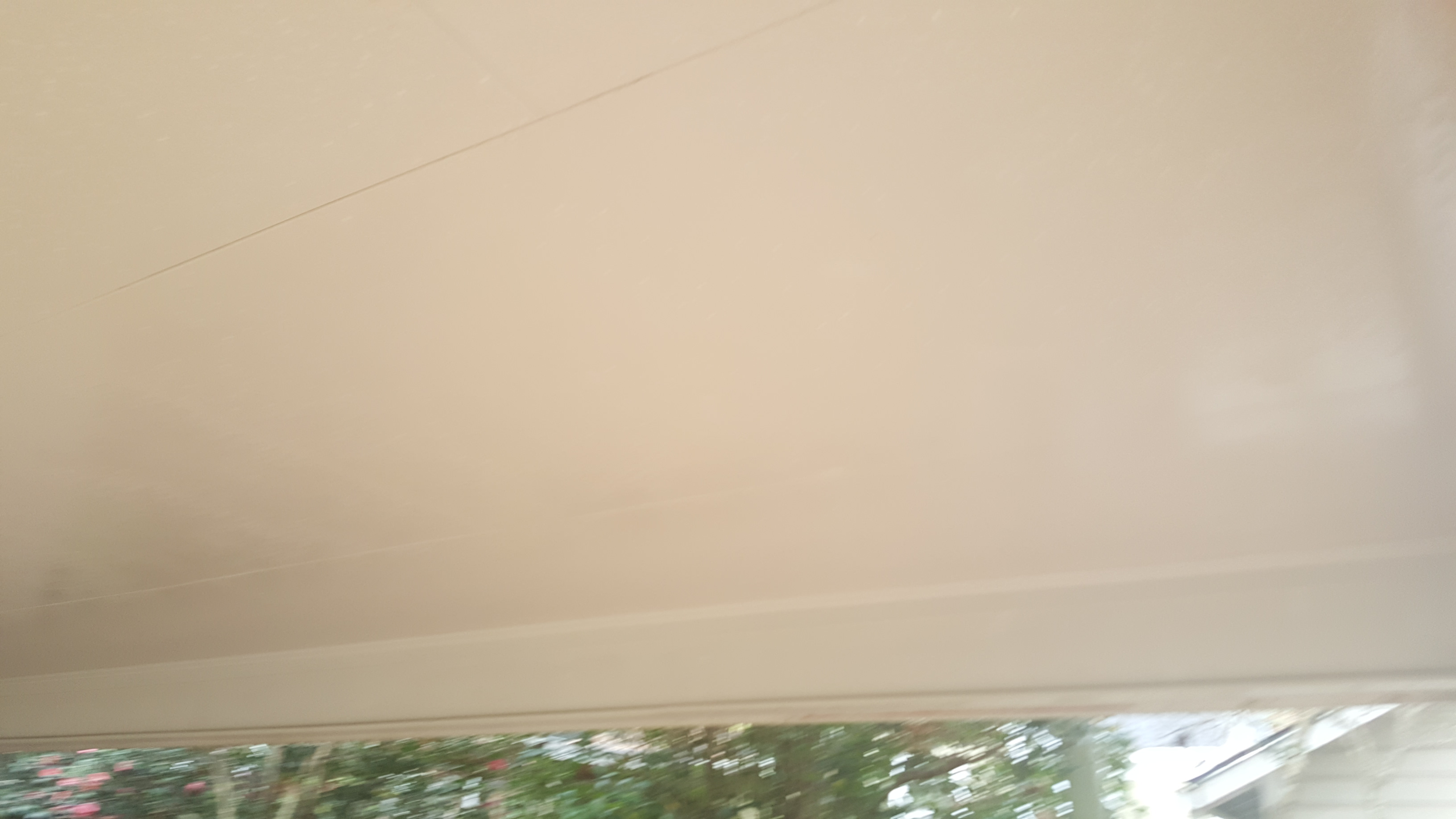 After ceiling wash
