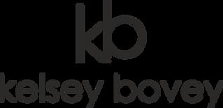 Logo - kb kelsey bovey (black) trans bac