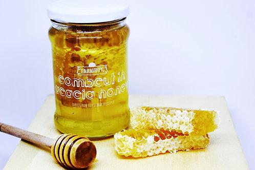 honeycomb in acacia honey 340g