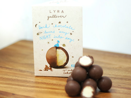 Milk chocolate trufles with coconut filling 100g