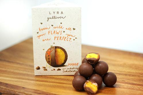 Milk chocolate trufles with mango filling 100g