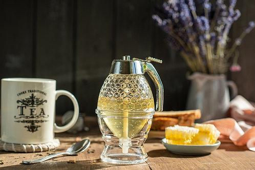 Honey dispenser with honey large honey