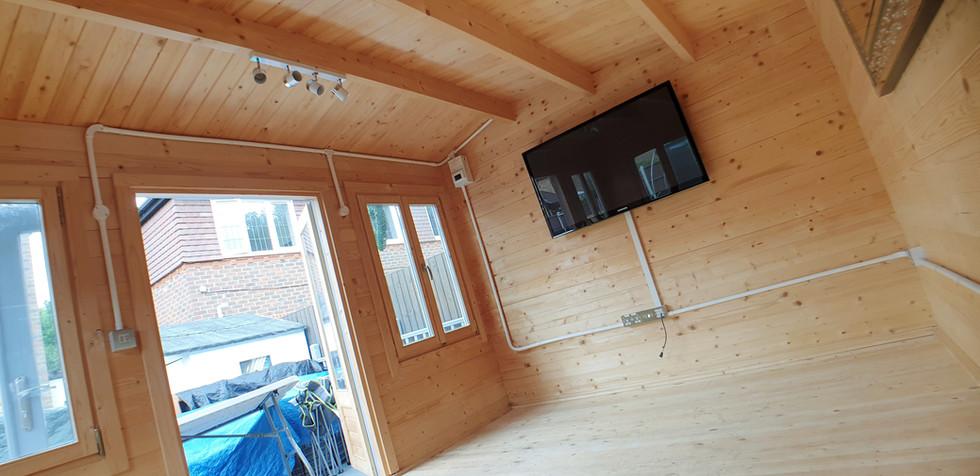 Wall Mounted LED TV
