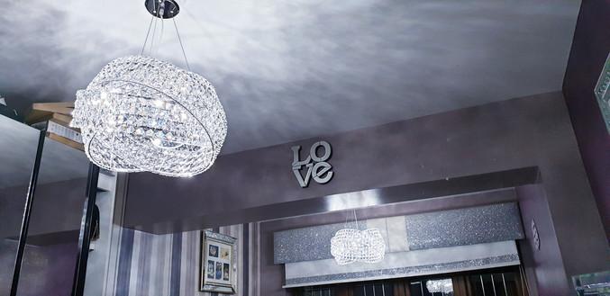 Glamorous ceiling lights