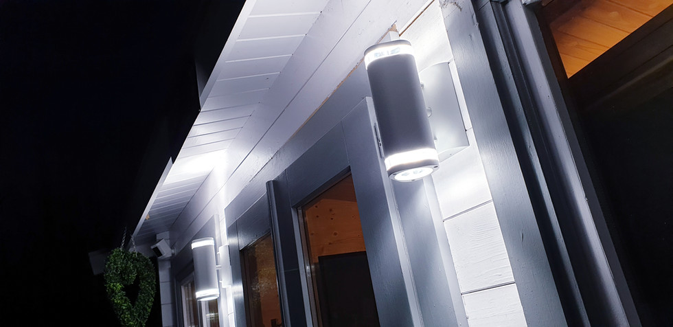 External lighting features