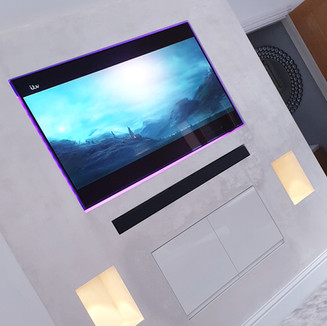 Elegant TV Feature Wall