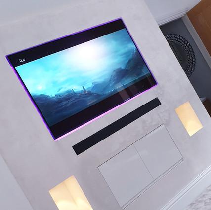 Elegant TV Feature Wall