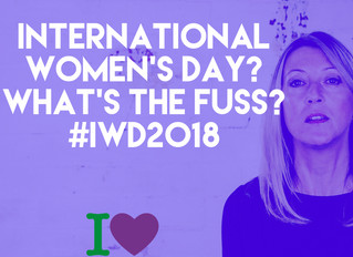International Women's Day? What's all the fuss? #IWD2018 #Womanchester #RadicalManchester