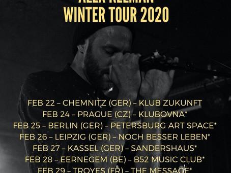 WINTER TOUR 2020 announced