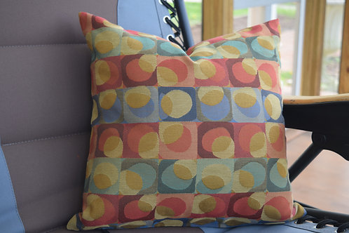 Abstract Circles Pillow Cover 18x18