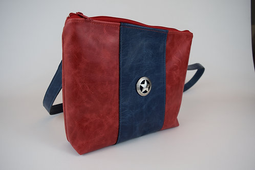 1311 Patriotic Leather CC with Cut-Resistant strap