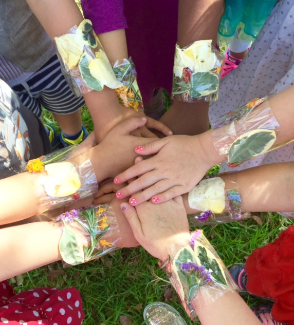 Earth Day nature bracelets