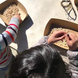 Preschool bird feeders