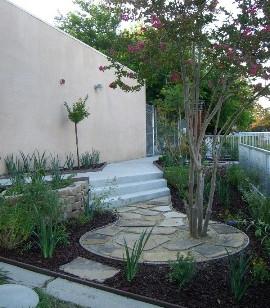 Campus butterfly garden