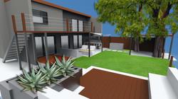 CAD rendering - Beverly Hills, CA